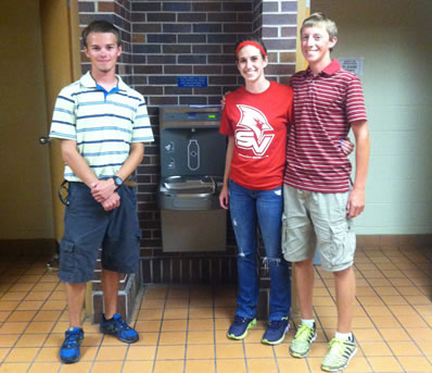 YAC with Water Fountain